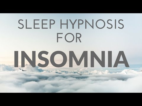 SLEEP HYPNOSIS FOR INSOMNIA with White Noise & Dark Screen for Sleep