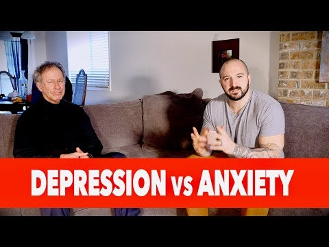 DEPRESSION vs. ANXIETY (Which is Worse?) | feat. Counselor Douglas Bloch