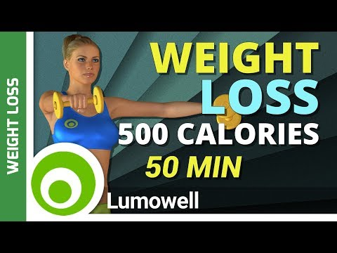 500 Calorie Weight Loss Workout with Weights