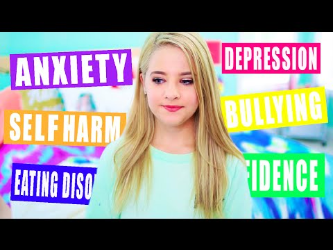 How To Overcome Depression, Anxiety, Eating Disorders and Bullies: My Advice