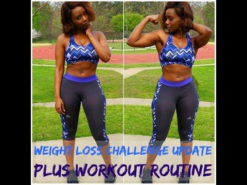 Weight Loss Challenge Update   Curvy Girls Workouts Routine + Groceries #TeamSashaDahls