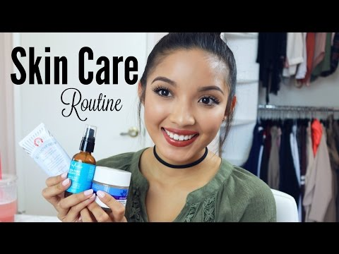 Night Time Skincare Routine | Eczema, Dry, Sensitive Skin | Alegria Jimenez