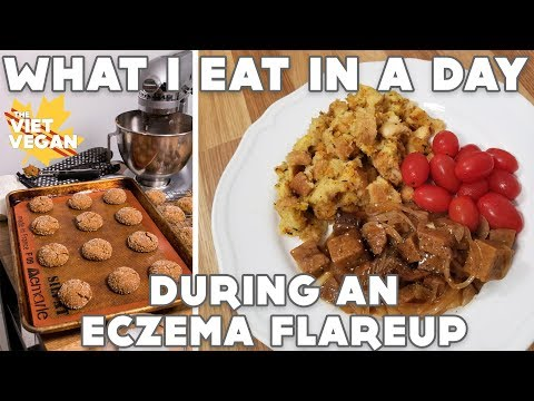 What I Eat In A Day During An Eczema Flareup // VEGAN // Experimenting with Instant Pot!