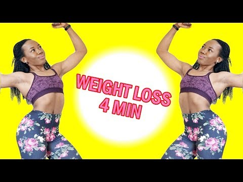 4-MIN WEIGHT LOSS WORKOUT FOR BEGINNERS – No Gym – No Equipment – At Home Workout to Get Fit