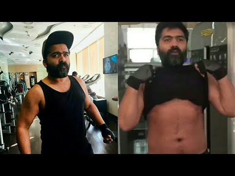 Simbu Latest Gym WorkOut | Weight Loss for ManiRatnam Movie – Fitness | Actors Gym WorkOut