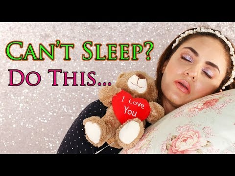 Do This If You CAN'T SLEEP | Have INSOMNIA Disorder? How to Fall Asleep FAST When You CAN'T Sleep!