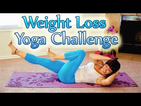 Yoga Weight Loss Challenge Workout 2, 25 Minute Yoga Meltdown Beginner & Intermediate Fat Burning