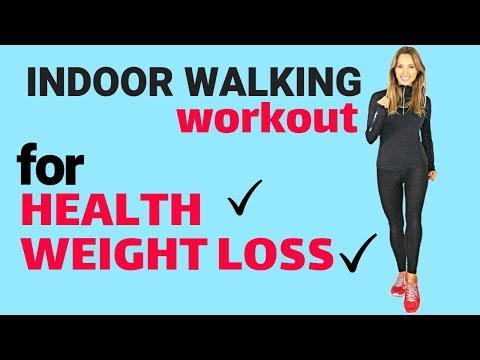 WALKING AT HOME – WEIGHT LOSS & HEALTH INDOOR WALK WITH TOTAL BODY MOVES IDEAL FOR BEGINNERS