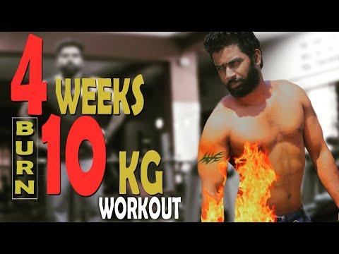 | 4 WEEKS 10 KG WEIGHT LOSS WORKOUT| Malayalam Video | Certified Fitness Trainer Bibin