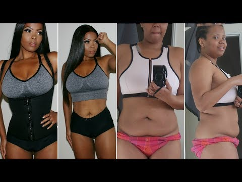 MY 45 LB WEIGHT LOSS |INTERMITTENT FASTING |WORKOUT ROUTINE WAIST TRAINING TO LOSE INCHES |TASTEPINK
