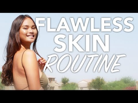 Easy skin care routine for flawless skin! (eczema/dry skin)