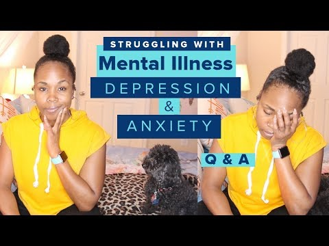 Struggling With DEPRESSION, ANXIETY & MENTAL HEALTH   Q&A and Chit Chat    2019 motivation