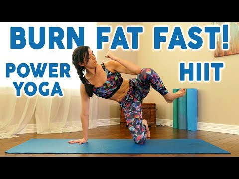Power Yoga HIIT  Fusion with Julia! Yoga for Weight Loss, Beginners At Home Workout, 20 Min Cardio