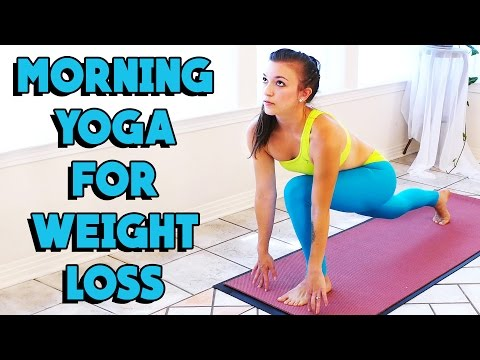 Morning Yoga for Weight Loss! 20 Minute Beginners Home Workout for Flexibility & Fat Burning