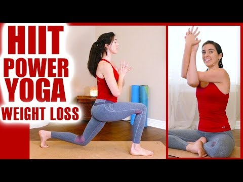 Power Yoga HIIT Workout for Weight Loss | Personal Trainer Reveals How to Burn Fat FAST At Home