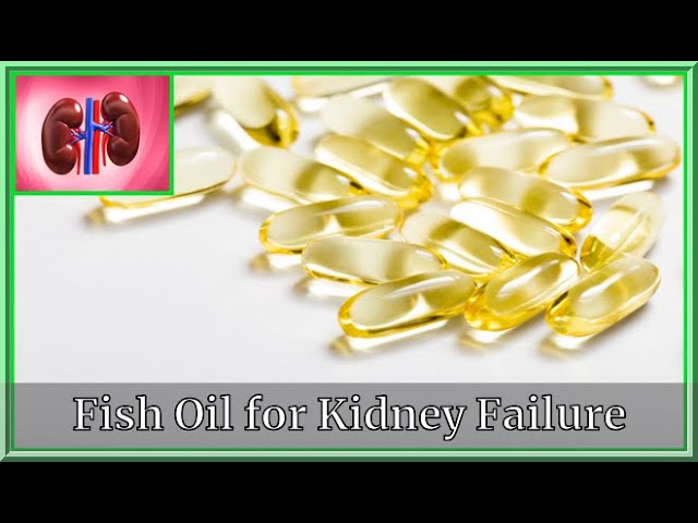 Fish Oil for Kidney Failure|Kidney deseases| Very Well