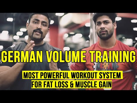 THE MOST POWERFUL WORKOUT SYSTEM FOR FAT LOSS & MUSCLE GAIN – GERMAN VOLUME TRAINING