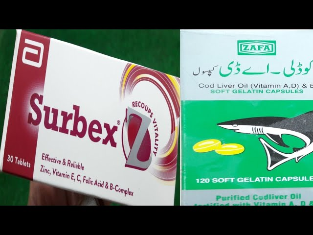 Surbax z For Body Weekness .Fish Oil Capsules For Health And Beauty.Surbax z Best For Man's Problm.