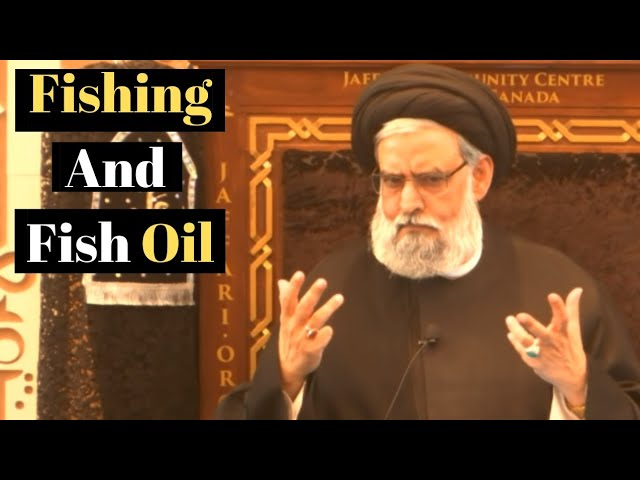 6. Halal Food Guide: Fishing And Fish Oil, All That You Need To Know In 6 Minutes