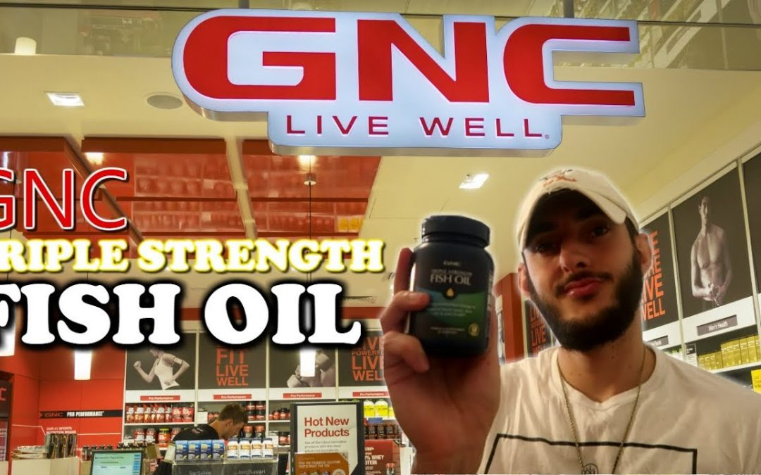 GNC Triple Strength Fish Oil | Omega 3 Fish Oil