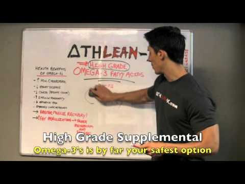 Supplements Review Part 3 – High Grade OMEGA-3s (Muscle Recovery Monster!)