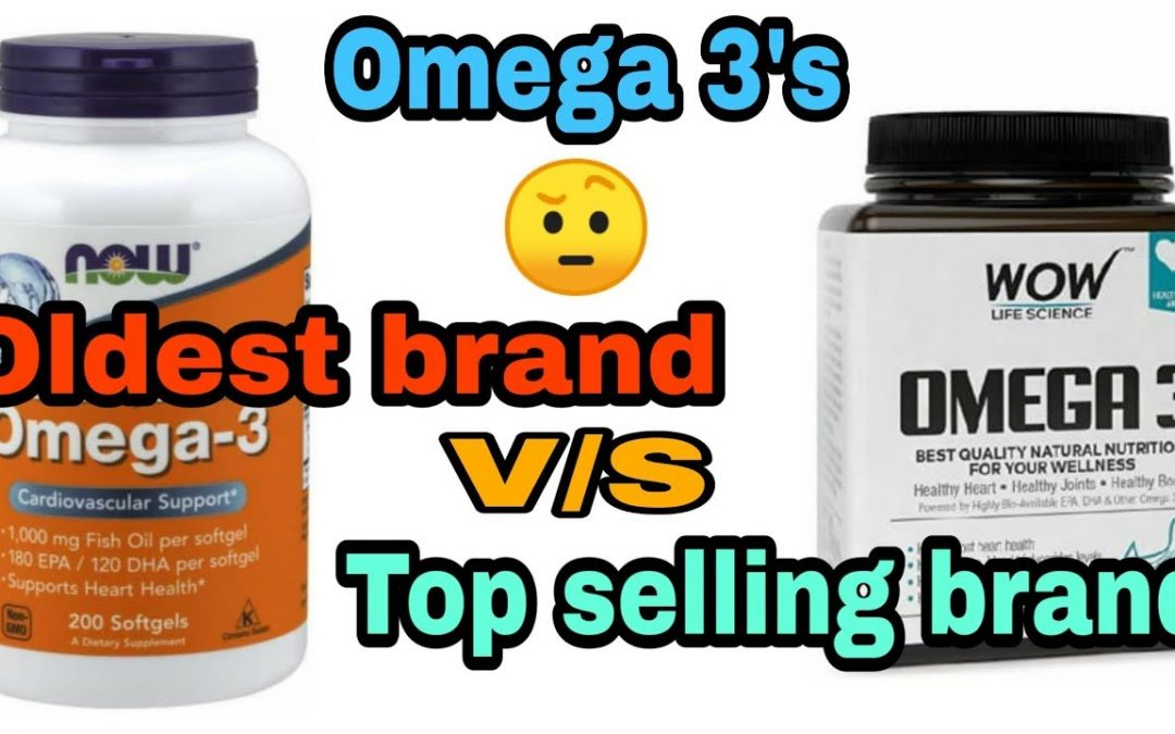 Omega 3 fish oil Now foods vs Wow which is best | Affordable | Effective| Complete Information
