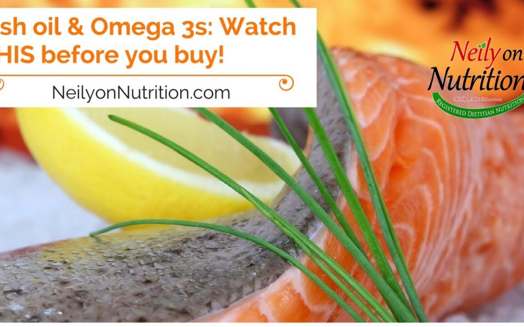 Fish oil or omega 3s: A MUST watch video before you buy!