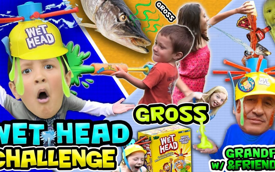 WET HEAD CHALLENGE! w  Fish Oil, Old Food, Pickle Juice & More! FVExtreme Fun