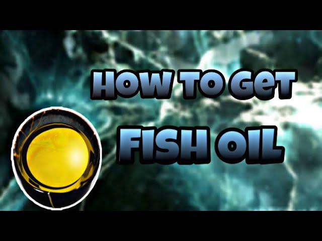 How to get fish oil in Warframe