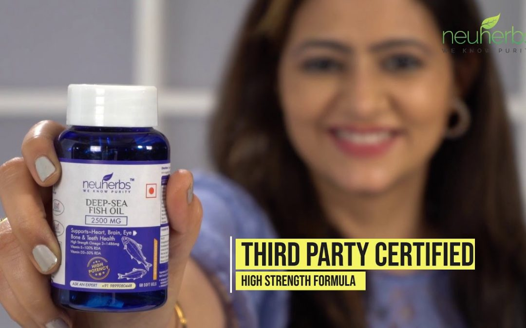 Improve your recover with extra Omega3 – FISH OIL के चमत्कारी फायदे | Neuherbs Deep Sea Fish Oil