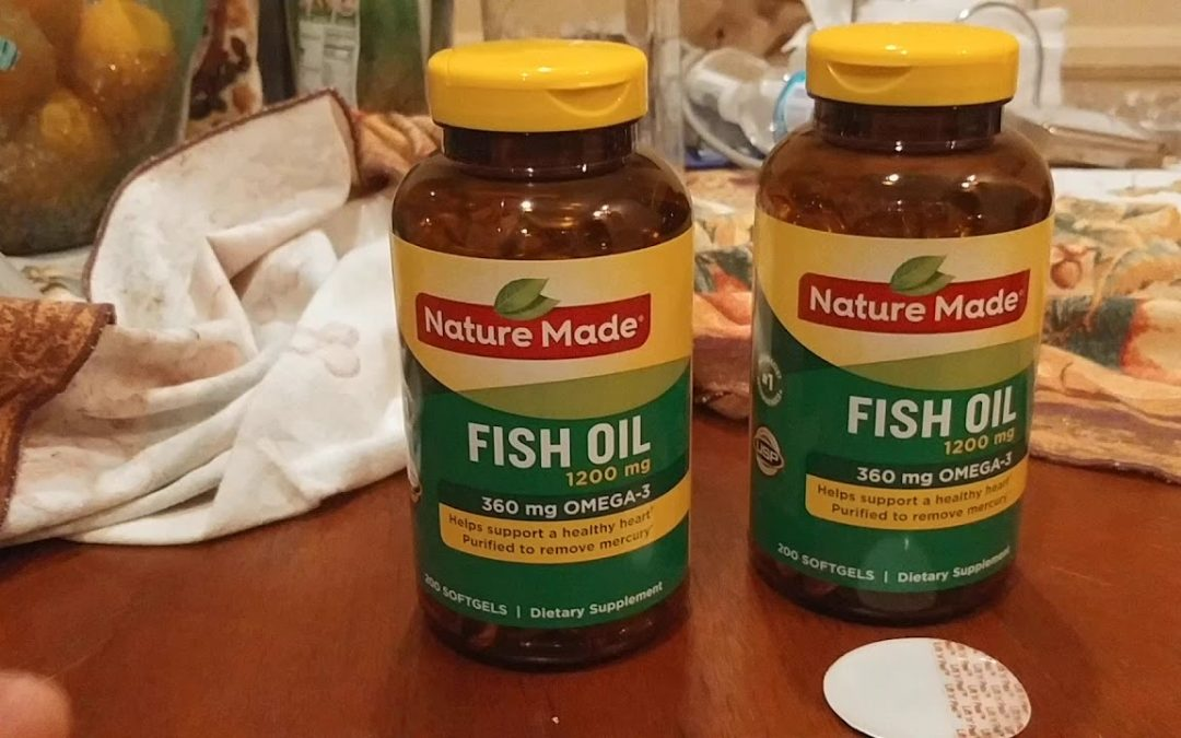 137. Best Bang For The Buck: Omega 3 Fish Oil Pills. Nature Made 1200 mg Softgels Omega 3 Fish Oil