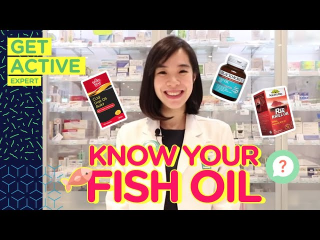 Know Your Fish Oils With #GetActiveExpert Review