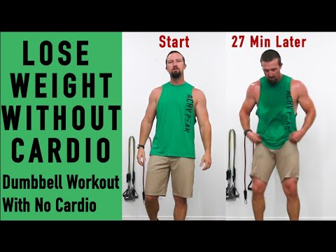 Dumbbell Workout To Lose Weight – 27 Min Weight loss Workout – Lose weight without Cardio