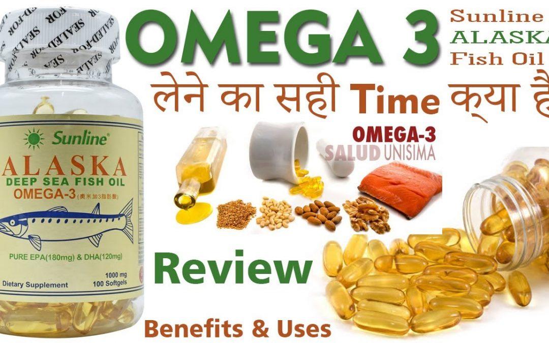 OMEGA 3 Good Fatty Acids. Sunline Alaska Deep Sea Fish Oil Uses and Benefits [ DHA/EPA ] Review