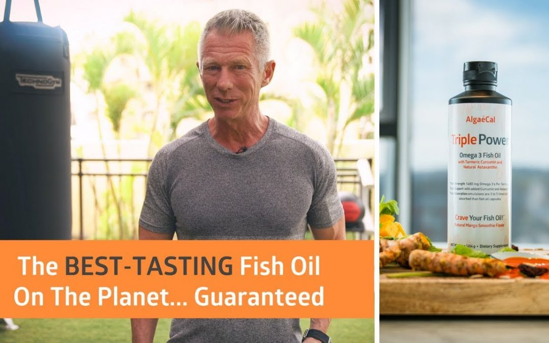 Combat Inflammation With Triple Power Fish Oil!