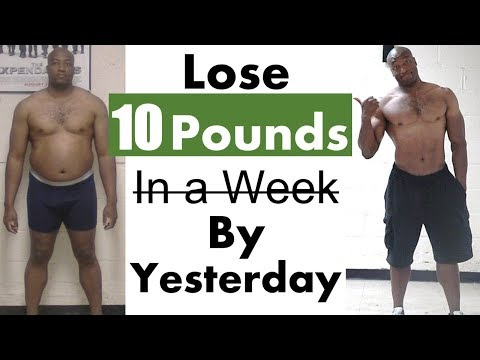 How to Lose 10 Pounds in  3 Days 👉 the Best Workout to Lose Weight Fast