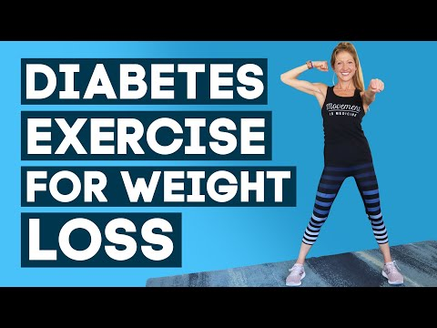 Diabetes Exercises For Weight Loss Workout for Beginners (LIFE-CHANGING!)