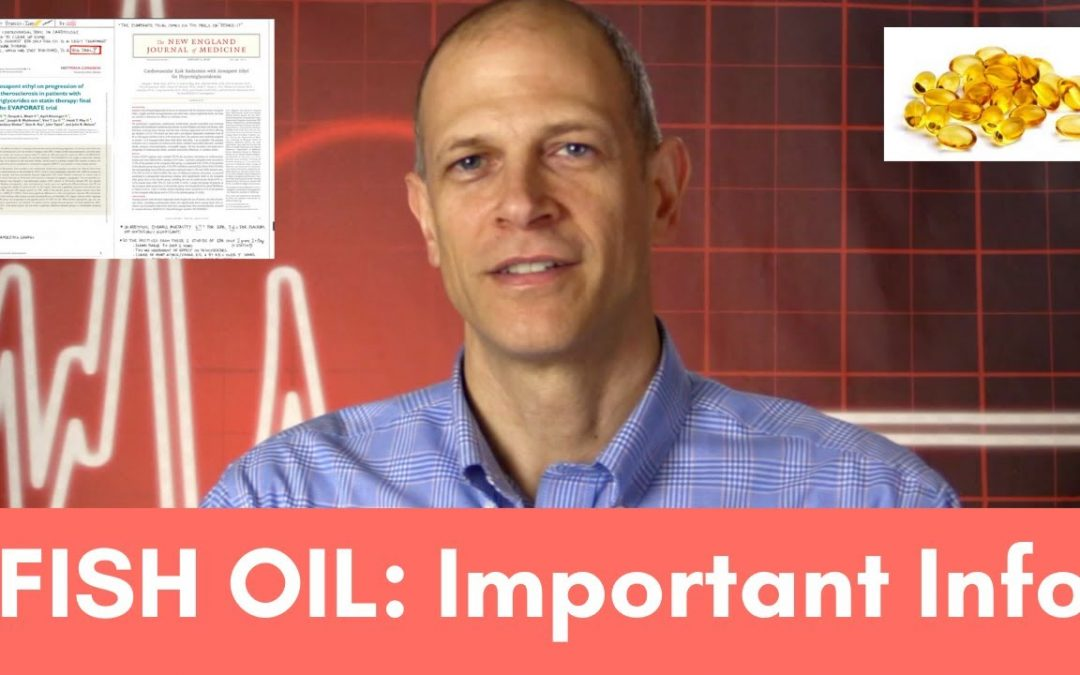 Fish Oil: Important Information. Can it Shrink Plaque and Decrease Heart Attacks?