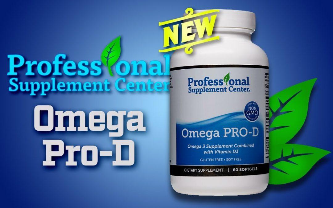 Omega Pro-D – Pharmaceutical Grade Fish Oil Supplement