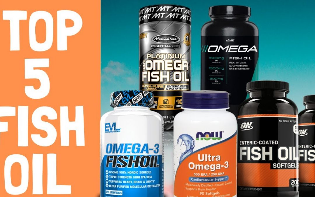 Top 5 Best Fish Oil Supplements | Omega 3  | Best Fish Oil 2020