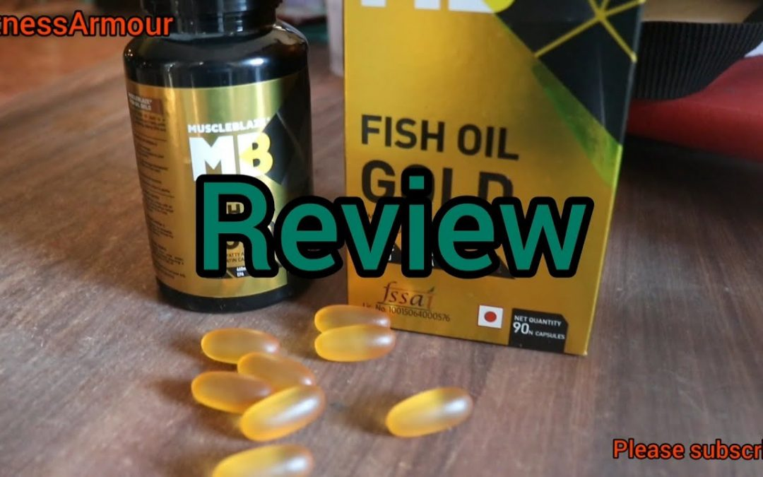 Muscleblaze Fish Oil GOLD review ! Great immunity booster #muscleblaze #omega3 #immunity