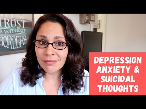 Depression, Anxiety, and Suicidal Thoughts
