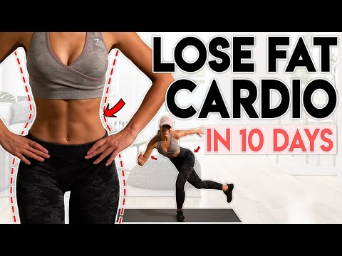 FULL BODY FAT LOSS in 10 Days (cardio) | 15 minute Home Workout